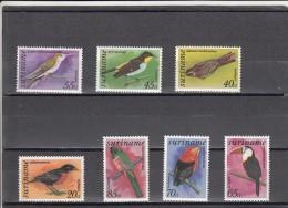 Surinam Nº A71 Al A77 - Surinam