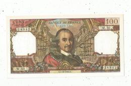 Billet , France , 100,  Cent Francs, Corneille , 1-10-1964 , 2 Scans, Frais Fr 1.95 E - 1962-1997 ''Francs''