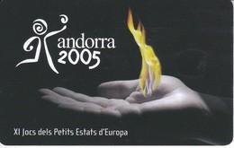 AND-148 TARJETA DE ANDORRA DE XI JOCS DEL PETITS ESTATS D'EUROPA - Andorra