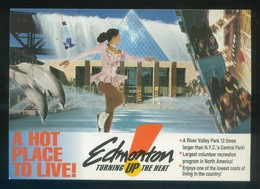 Canadá. *A Hot Place To Live* Ed. Edmonton. Nueva. - Postales