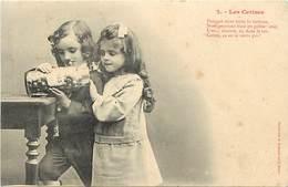-ref-B131- Illustrateurs - Illustrateurs Bergeret - Les Cerises - N° 2 - Couple Enfants - Carte Bon Etat - - Bergeret