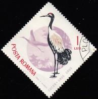 ROMANIA - Scott #1773 Grus Grus / Used Stamp - 1948-.... Republics
