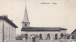 55 / NIXEVILLE / L EGLISE / RARE / TAMPON TRESOR ET POSTES 150 - Other Municipalities