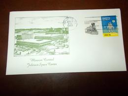 B709  Stati Uniti Busta Johnson Space Center - Postal History