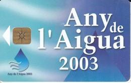 AND-137 TARJETA DE ANDORRA ANY DEL AIGUA - Andorra