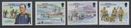 British Antarctic Territory (BAT) 1987 75th. Ann. Of Capt. Scott's Arrival At South Pole 4v ** Mnh (41645) - Brits Antarctisch Territorium  (BAT)