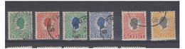 DANEMARK -- ANTILLES -- DANSK VESTINDISKE -- FACIT N°32 à 37 -- - Denmark (West Indies)