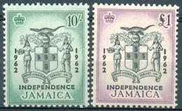 Jamaïque - 1962 - Yt 198/199 - Indépendance - * Charnières - Jamaïque (...-1961)