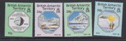 British Antarctic Territory 1987 International Geophysical Year 4v ** Mnh (41646) - Brits Antarctisch Territorium  (BAT)