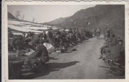 GRUPPO MILITARI ALPINI - FOTO ORIGINALE - War, Military