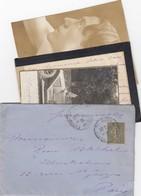 LETTRE. COVER. FRANCE. 1917 . GERMAN CAR CORESPONDANCE.../    4 - Ohne Zuordnung
