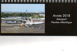 Aviation : Calendrier 2018 Aéroport Nantes Atlantique (44) - Calendriers