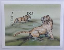 Gambia 1999** Mi.Bl.433. Prehistoric Animals, MNH [7;51] - Vor- U. Frühgeschichte