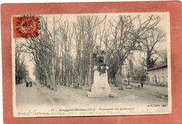 CPA - BOURG-en-BRESSE (01) - Thème: Arbre- Aspect Du Mail Arboré D'essences Tel Que Tilleuls,hêtres,platanes... - Bourg-en-Bresse