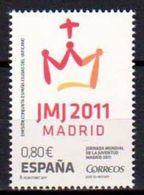 2011 - VATICANO-SPAGNA, Giornata Mondiale Della Gioventù - MNH ** - Emissioni Congiunte