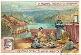 CH277 - Chromo Liebig - Indochine - Viet Nam - Vietnam - Repas Rituel D Une Famille Annamite  - Chromo Bon Etat - - Liebig