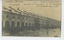 RUSSIE - RUSSIA - SAINT PETERSBOURG - Carte Photo Souvenir De L'Inondation Du 12 Novembre 1903 - Russland
