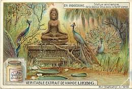 CH275 -chromo Liebig -en Indochine -vietnam -viet Nam -déesse Uma / Etat : Petit Pli Coin Bas Droit Du Chromo  - - Liebig