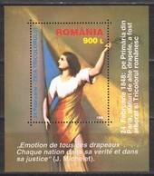 Rumänien; 1998; Michel Block 308 **; Jiua Tricolorului - 1948-.... Republics