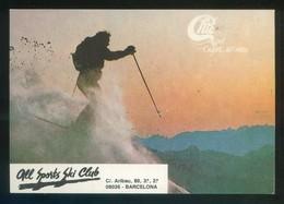Sant Cugat Del Vallès. *Chic - All Sports Ski Club* Impreso Flyer. Meds: 103 X 148 Mms. - Deportes De Invierno