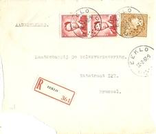 Belgique 1957 - Devant D'enveloppe Recommandée EEKLO -  Flandre Orientale - Léopold Poortman - Cob 847, 925 - Belgique