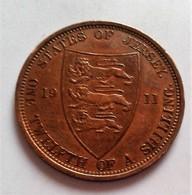Monnaie, Jersey, George V, 1/12 Shilling, 1911 (B4 - 16) - Jersey