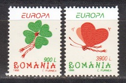Rumänien; 1998; Michel 5297/8 **; Feste - Nuovi