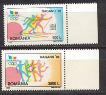 Rumänien; 1998; Michel 5294/5 **; Nagano - 1948-.... Republiken