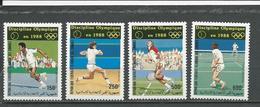 COMORES Scott C167-C170 Yvert PA233-PA236 (4) ** Cote 17,00 $ 1987 - Comores (1975-...)