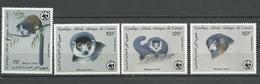 COMORES Scott C171-C174 Yvert PA237-PA240 (4) ** Cote 18,00 $ 1987 - Comores (1975-...)