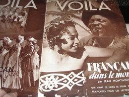 VOILA/ COLONEL LAWRENCE /TIR A L ARC ERMONT EAUBONNE /ANTILLES /BAGNE ALEXIS DANAN /ESPAGNE PIERRE SCIZE - Livres, BD, Revues