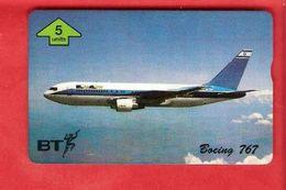UNITED KINGDOM  BT-phonecard  Landis & Gyr - Airplane - Avions
