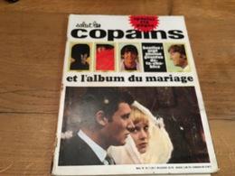 170/SALUT LES COPAINS N°34 1965 L ALBUM DU MARIAGE DE JOHNNY ET SYLVIE , BEATLES - Muziek