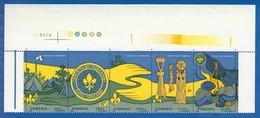 Rumänien; 1997; Michel 5281/5, Yv 4414/8 **; Les Scouts, Cercetasi - 1948-.... Republics