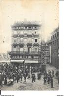 """Liège - Restaurant Au """"Grand Bouillon"""" Rue De La Cité, Coin De La Goffe N°12 - Carte Publicitaire - 2scans. - Luik"""