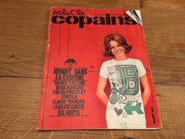 170/SALUT LES COPAINS N°24  1964 JOHNNY DANS SA CASERNE , CLAUDE FRANCOIS ECT - Musique
