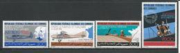COMORES Scott C179-C182 Yvert PA247-PA250 (4) ** Cote 22,00 $ 1987 - Comores (1975-...)