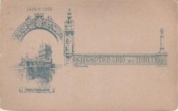 Vorläufer Litho AK 1498 - 1898 Centenario Da India Torro De Santa Maria Belem Lissabon India Indie Indien भारत गणराज्य - India