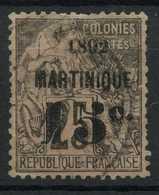 Martinique (1891) N 28 (o) - Martinique (1886-1947)