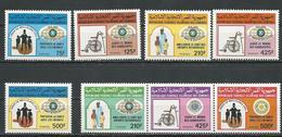 COMORES Scott 638-642 643a-643c Yvert 450-454 455-457 (8) ** Cote 28,00 $ 1988 - Comores (1975-...)