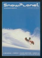 *Snow Planet* Impreso Flyer. Meds: 104x150 Mms. Dorso Impreso. - Deportes De Invierno