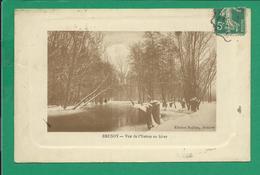 CPA ESSONNE 252/387 -  BRUNOY, Vue De L'Yerres En Hiver - Brunoy