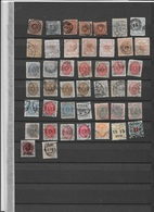 Denmark USED Damaged Classical Stamps - Timbres