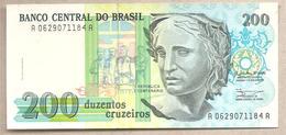 Brasile - Banconota Non Circolata Da 200 Cruzeiro P-229 - 1990 - Brasile