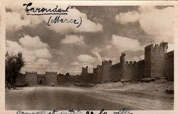 TAROUDANT (Maroc) - Remparts Et Entrée De La Ville  - Cpsm De 1953 - Rare - Bon état - 2 Scans - Autres