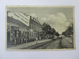 Croatia-Osijek/Desaticina Ulica,used Postcard From 1934 - Croatia