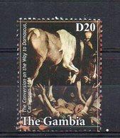 GAMBIA. ART. CARAVAGGIO. MNH (2R2138) - Arte
