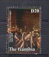 GAMBIA. ART. CARAVAGGIO. MNH (2R2140) - Arte