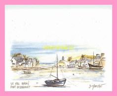 CPM LE VAL ANDRE  Port De Dahouet Aquarelle De Bernard  MORVAN - France