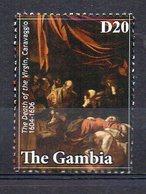 GAMBIA. ART. CARAVAGGIO. MNH (2R2143) - Arts